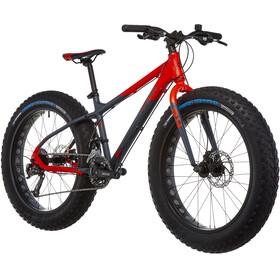 s'cool XTfat 24 18-S Kinder red/black matt